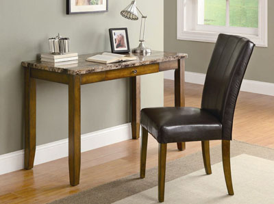 "COASTER 48"" WRITING DESK WITH CHAIR"